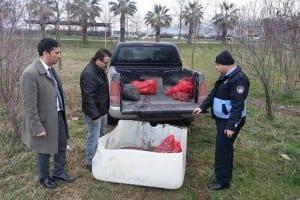 İl Tarım Müdürlüğü Su Ürünlerinde Yasadışı Avcılıkla Mücadeleye Devam Ediyor