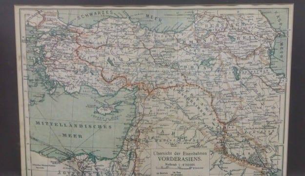1880 Tarihli bu haritayı kim çizdi?