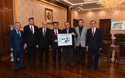 KOCAELİ ARTVİNLİLER DERNEĞİ'NDEN VALİ GÜZELOĞLU'NA ZİYARET