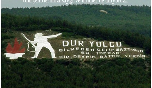 KOTO Başkanı Necmi Bulut ve Meclis Başkanı Akın Doğan;    Çanakkale Zaferi Türk tarihinin kaderini değiştiren bir kahramanlık destanıdır