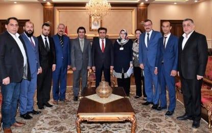 Vali  Güzeloğlu, Kocaeli Roman Dernekleri Federasyonu'nu kabul etti