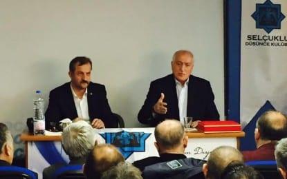 Sadettin TANTAN,  16 Nisan sonrasında parti kimliklerinin atılarak millî kimlikte buluşulmasını önerdi