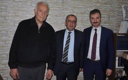 Haydar Akar'dan Gazetemize ziyaret
