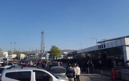 Tüpraş'ta Eylem Yeniden Başladı