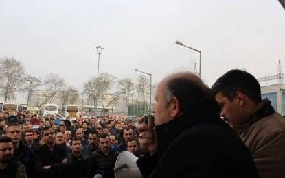 Tüpraş'da  grev, ikinci bir emre kadar devam edecek