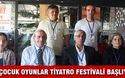"""Kocaeli Bölge Tiyatrosu """"24. Çocuk Oyuncular Tiyatro Festivali"""" Başladı"""