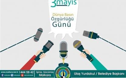 3 Mayıs Dünya Basın Özgürlüğü Günü Kutlu Olsun