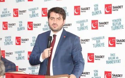 Saadet Partisi İzmit İlçe Başkanı Samet Gürsoy Sert Konuştu;  Nevzat Doğan'ın Ver-Al politikası