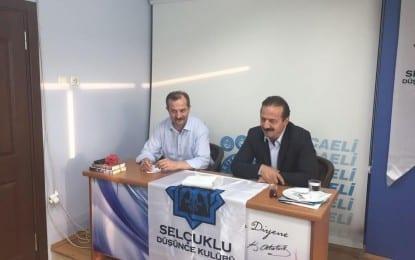 Selçuklu Düşünce Kulübü'nün Mayıs Ayı Konuğu Ağıralioğlu; Tayyip Erdoğan'ın içine bir İsmet İnönü kaçtı