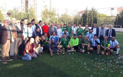 1. Bahar Futbol Turnuvası Kupa Töreniyle Son Buldu