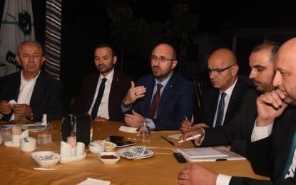 Büyük Birlik Partisi İl Başkanlarına İftar Verdi