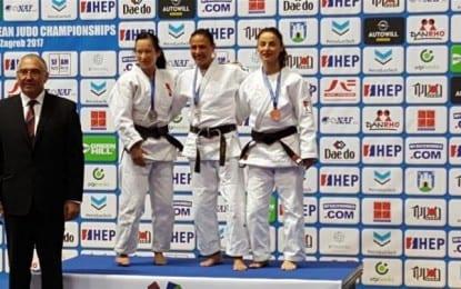 Avrupa Veteranlar Judo Şampiyonası'nda Gebze'li beden öğretmeni 3.üncü oldu