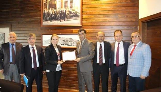 Kocaeli Vergi Dairesi Başkanlığı'ndan Kocaeli SMMM Odası'na Ziyaret