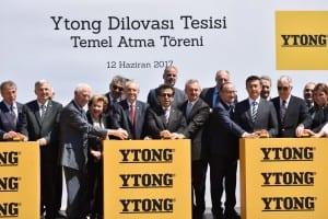 Türk Ytong Sanayi A.Ş. Dünyanın En Büyük 6, Fabrikasını açtı