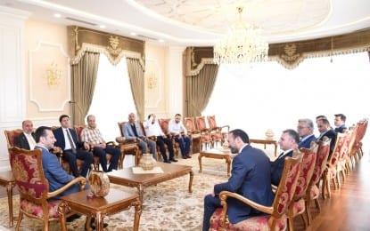 Kocaeli Saadet Partisi'nden Vali Aksoy'a Hayırlı Olsun ziyareti