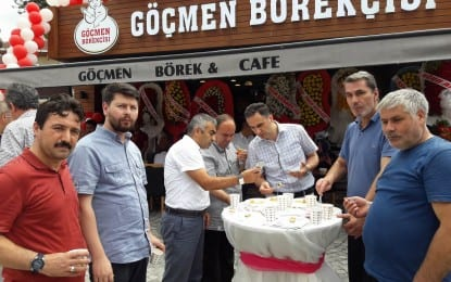 Çakmakçı Kardeşlerin Yeni İş Yeri Muhteşem bir törenle açıldı
