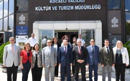 Vali Aksoy Kültür Ve Turizm Müdürlüğü'nden Brifing Aldı