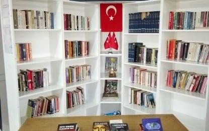 Şehit Tank Astsubay Muhammed KOŞAN Kütüphanesi'ne İlimizden Anlamlı Destek