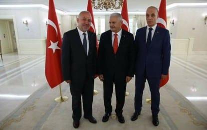 Türk-İş'ten Başbakan Yıldırım'a teşekkür ziyareti