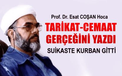 Tarikat-Cemaat gerçeğini yazdı, suikaste kurban gitti