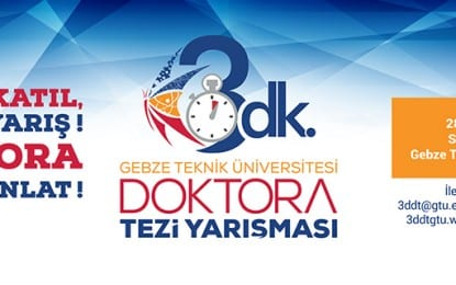 Geleneksel Doktora Yarışması 28 Eylül'de