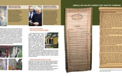 Yavuz Sultan Selim��in hocas覺 oldu�u belirtilen Hac覺 Abdullah Halife i癟in anma t繹reni d羹zenlendi