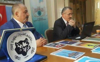 Türk Ocakları Kocaeli Şubesi'nin Konuğu Prof.Dr. Ali Rıza Gül; Ahlak sadece zihinlerde düşüncelerde kalmamalı amelde de olmalı