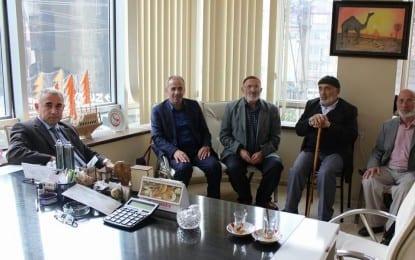 Körfez Kaymakamı Hasan Hüseyin Can'dan Fırıncılar Odası Başkanı Ali Çakır'a Ziyaret