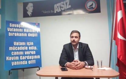 """Turancı Hareket Platformu Genel Başkanı Caner Öztürk; """"Bugünün Türkiye'sinde Türkçü avukatlara, Türkçü diplomatlara ve belirli kadrolara girmiş Türkçü bireylere ihtiyacımız var!"""""""
