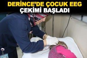 Çocuk EEG(Elektroensefalografi) Çekimi Hizmete Başladı