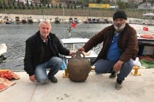 Karamürselli Balıkçıların Ağına Bizans Tarihi Takıldı