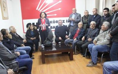 Körfez CHP'ye Gülseren Solmaz aday oldu