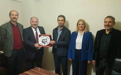 Türk Ocaklarından Türkav ve Gebze Türk Eğitim sen'e ziyaret