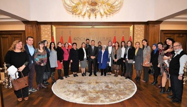 TEMA Vakfı İl Temsilcileri'nden Vali Aksoy'a Ziyaret