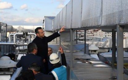 Vali Aksoy, Gebze Fatih Devlet Hastanesi İnşaatında İncelemelerde Bulundu