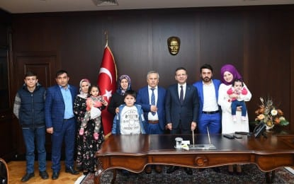 POSPOR KİMYA'DAN VALİ AKSOY'A ZİYARET