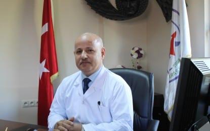 Derince Eğitim ve Araştırma Hastanesi Başhekimi Doç. Dr. Mustafa Güneş Helallik İstedi
