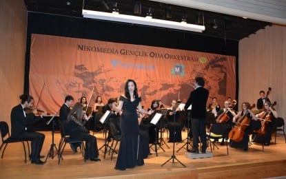 Kocaeli Nikomedia Gençlik Orkestrası Büyüledi