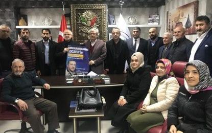 AK Parti İlçe Başkanı Ayar, Gümüşhanelileri Kongreye Davet Etti