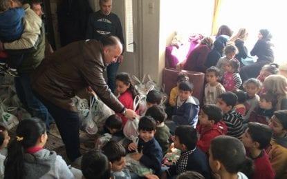 İyi Kalpler Hareketi Türkmen Ailelere Yardım Yapmaya Devam Ediyor
