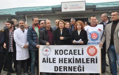 """SAĞLIKTA ŞİDDETE """"TERÖR'E"""" DUR DENİLMELİ"""