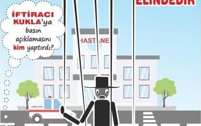 Türk Sağlık – Sen: Kocaeli Devlet Hastanesi çalışanlarının yaptıkları bu eylemi destekliyoruz