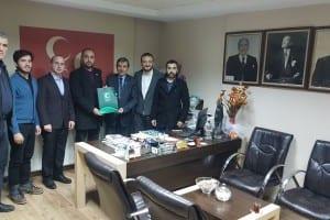 Gebze Yeşilay'dan MHP Gebze İlçe Başkanlığına Ziyaret