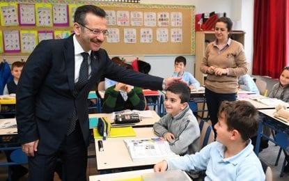 Vali Aksoy; Eğitim Bizim En Önem Verdiğimiz Alanların Başında Geliyor