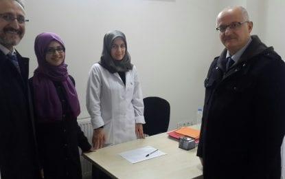 Birleşmiş Milletler Nüfus Fonu ve SağlıkMüdürlüğü Protokol ile  Kadın Danışma Merkezi defaaliyetlerine başladı