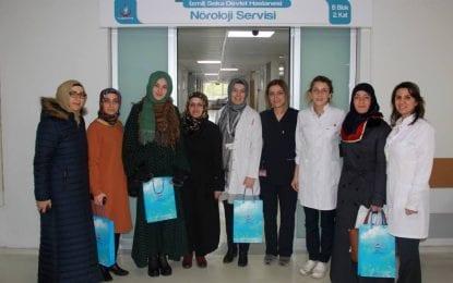 İzmit Seka Devlet Hastanesi'ne Anlamlı Ziyaret