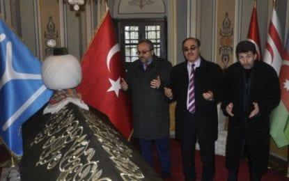 Artvinliler Dernek Başkanı Kalyoncu ve Ekibi Ertuğrul Gazi Türbesinde