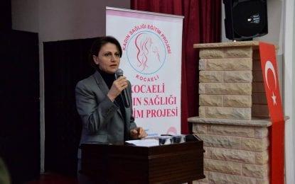 Kandıra'da Kadın Sağlığı Eğitim Projesi Gerçekleşti
