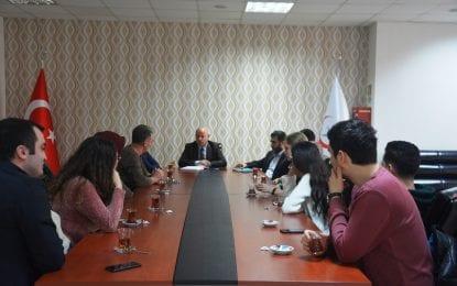 Doç. Dr. Mustafa Güneş Acil Servis Doktorları ile Toplantı Düzenledi