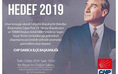 """CHP Darıca İlçe Başkanı Yakup Törk, """"Darıca'da iktidar olma hedefimize emin adımlarla yürüyoruz"""